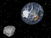 Earth flyby of asteroid 2012 DA14
