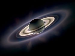 Saturn rings Cassini