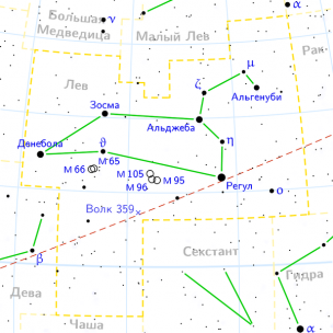 Leo constellation map ru lite