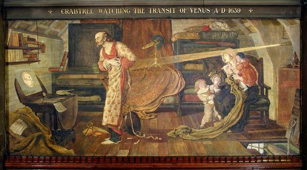 Crabtree_watching_the_Transit_of_Venus_A.D._1639_by_Ford_Madox_Brown_Reproduction