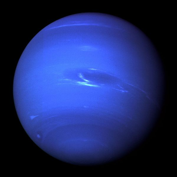 Neptune NASA JPL image Full