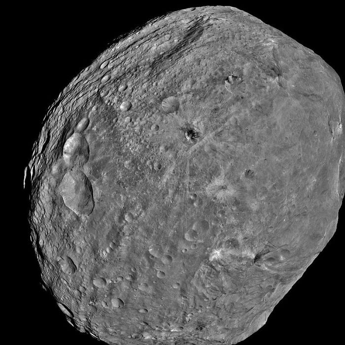 Vesta. NASAs Dawn spacecraft